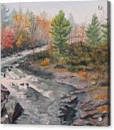 Old Burleigh Stream Acrylic Print