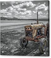 Old But Still Working Acrylic Print