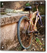 Old Bycicle Acrylic Print