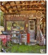 Old Car City Usa Acrylic Print