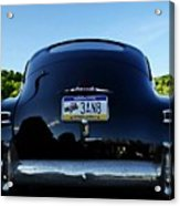 Old Car Trunk With Artistic Background Acrylic Print