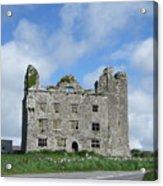Old Castle In Ireland Acrylic Print