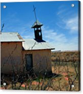 Old Chapel On Route 66 In Newkirk Nm Acrylic Print