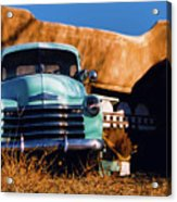 Old Chevrolet Acrylic Print