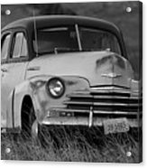 Old Chevy By The Levee Acrylic Print