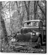 Old Chevy Oil Truck 2 Acrylic Print