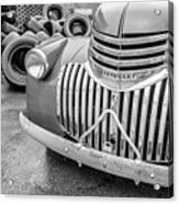Old Chevy Pickup Acrylic Print