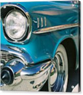 Old Chevy Acrylic Print by Steve Karol