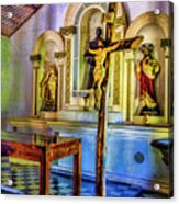 Old Church Altar Acrylic Print