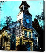 Old Church At Oxford Maryland Acrylic Print