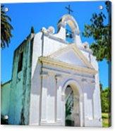 Old Church Colonia Acrylic Print