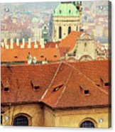 Old Church In Prague Acrylic Print