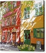 Old City Acrylic Print