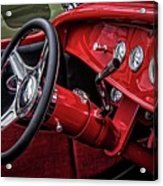 Old Classic Interior Acrylic Print