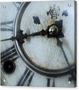 Old Clock Face Acrylic Print