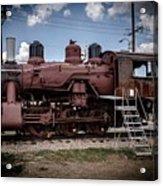 Old Clovis Train Acrylic Print