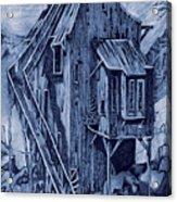 Old Colorado Mine Acrylic Print