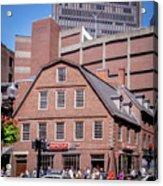 19- Old Corner Book Store Eckfoto Boston Freedom Trail Acrylic Print