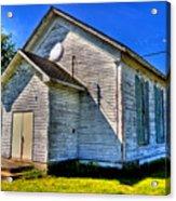 Old Country Church Acrylic Print