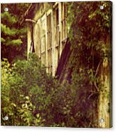Old Country Schoolhouse. Acrylic Print