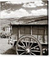Old Country Wagon Acrylic Print