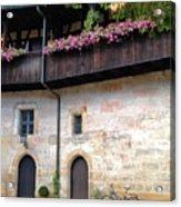 Old Court - Bamberg  Acrylic Print