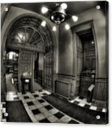 Old Courthouse Entryway Acrylic Print