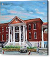 Old Courthouse In Ellijay Ga - Gilmer County Courthouse Acrylic Print