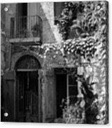 Old Courtyard Acrylic Print