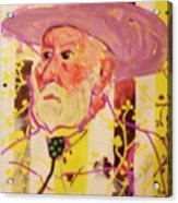 Old Cowboy Acrylic Print