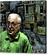 Old Craftsman Portrait Acrylic Print