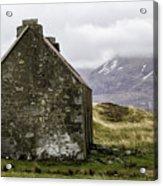 Old Croft Cottage Acrylic Print