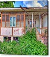 Old Curepe House Acrylic Print