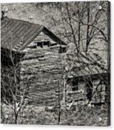 Old Deserted Farmhouse 3 Acrylic Print