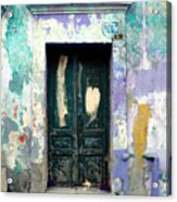 Old Door 4 By Darian Day Acrylic Print by Mexicolors Art Photography
