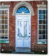 Old Door And Windows Acrylic Print