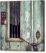 Old Door Detail Acrylic Print