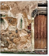 Old Door. Acrylic Print