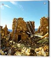Old Doors Kinishba Ruins Acrylic Print