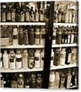 Old Drug Store Goods Acrylic Print