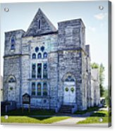 Old English Congregational Church Acrylic Print