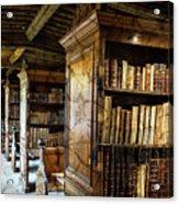 Old English Library Acrylic Print