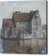 Old English Mill Acrylic Print
