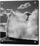 Old Faithful Geyser Acrylic Print