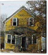 Old Farm House Acrylic Print