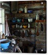 Old Farm Kitchen Acrylic Print
