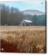 Old Farm Saturated Acrylic Print