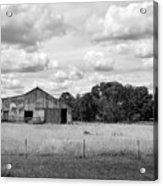 Old Farm Scene Acrylic Print