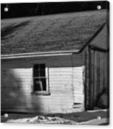 Old Farm Shed Acrylic Print