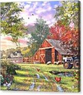 Old Farmhouse Acrylic Print